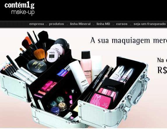 Site Contém 1g Perfumes – www.contém1g.com.br