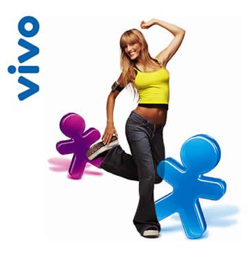 Site da Vivo, www.vivo.com.br