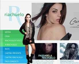 Site da Riachuelo – www.riachuelo.com.br