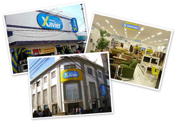 Site Lojas Xavier – www.lojasxavier.com.br