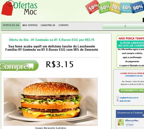 Site Ofertas Moc – www.ofertasmoc.com.br