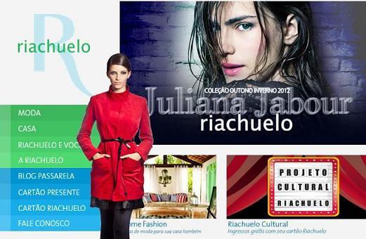 Site Riachuelo – www.riachuelo.com.br