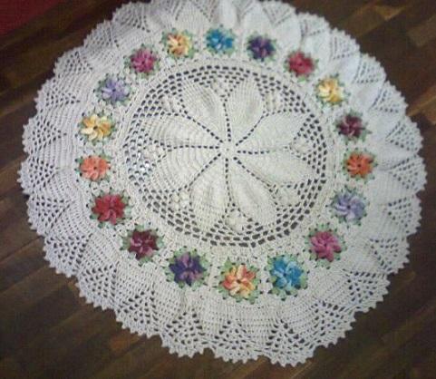 Tapetes de Crochê, Barbantes, Como Fazer, Gráficos, Modelos e Fotos