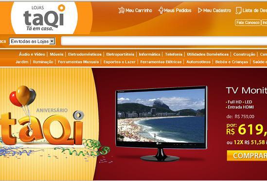 Ofertas Lojas Taqi – www.taqi.com.br