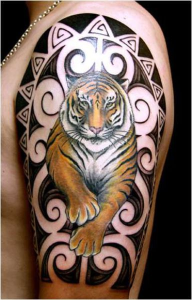 Fotos de Tatuagens Maori