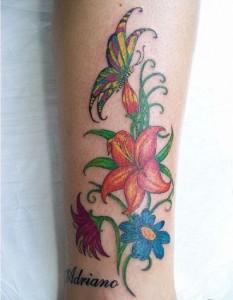 Tatuagens Femininas nas Pernas – Modelos
