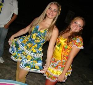 Vestidos para Festa Junina 2012 – Dicas e Fotos